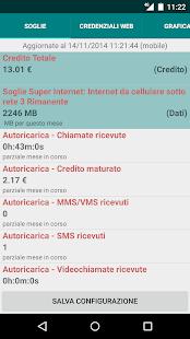 Widget 3 Italia - screenshot thumbnail