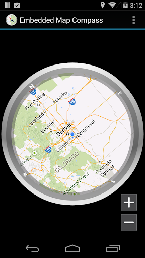 Embedded Map Compass