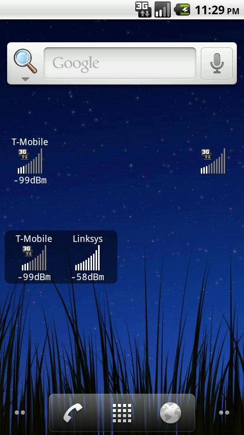 Mobile Signal Widget PRO - screenshot