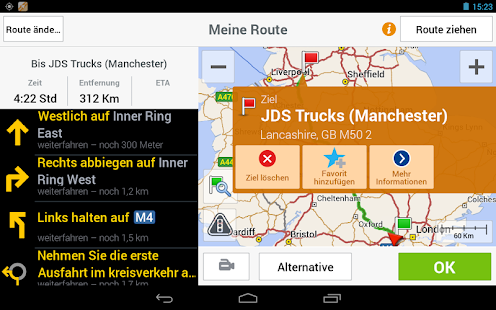 CoPilot Truck DACH - screenshot thumbnail