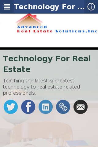 Technology For Real Estate