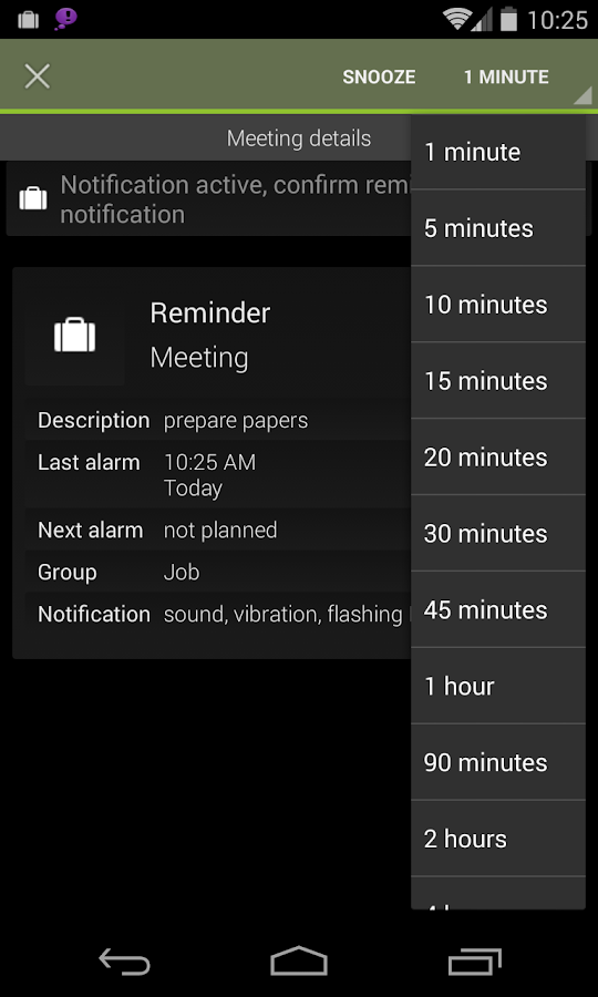 n'4get Reminder Pro - screenshot