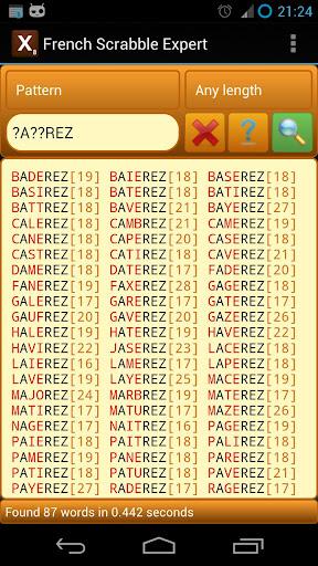 French Scrabble Expert 2.8 screenshots 2