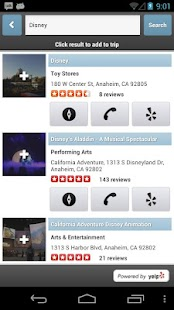Trippin - Yelp Trip Planner- screenshot thumbnail