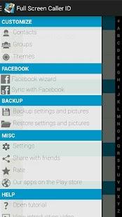 Full Screen Caller ID - screenshot thumbnail
