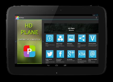HD Plane Free - Nova Apex ADW