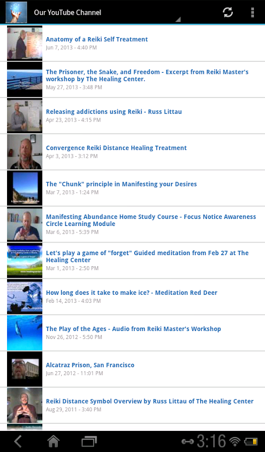 The Healing Center Reiki- screenshot