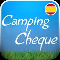 Guía Camping Cheque icon