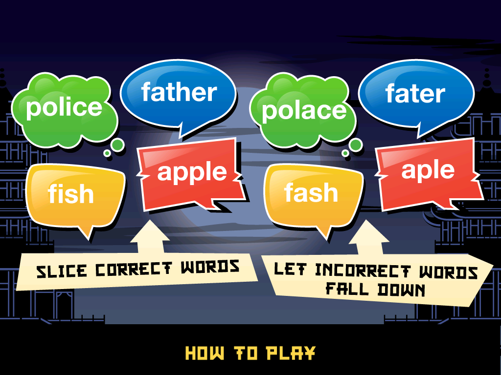Word Ninja HD - screenshot