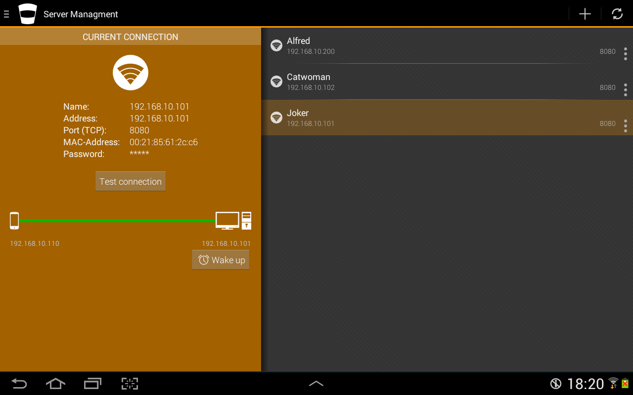 Super Duper Remote for VLC- screenshot