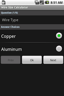 Wire size calculator android apps on google play wire size calculator screenshot thumbnail greentooth Gallery