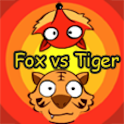 Fox vs Tiger logo