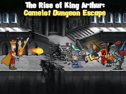 Rise of King Arthur the Escape