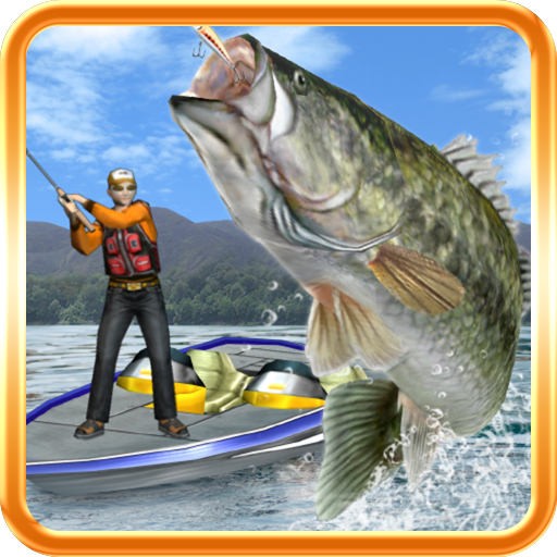 Bass fishing 3d on the boat app for android for Fishing apps for android