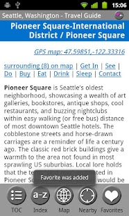 Seattle - FREE Guide & Map - screenshot thumbnail