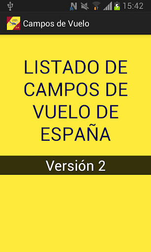 Campos de Vuelo de España 2.0