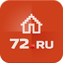Недвижимость Тюмени 72.ru icon