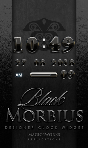 Morbius Digital Clock Widget