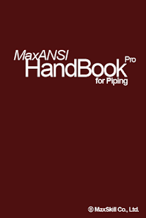 MaxANSI Piping HandBook Pro - screenshot thumbnail