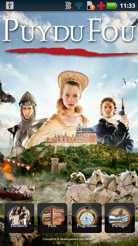 Puy du Fou- screenshot
