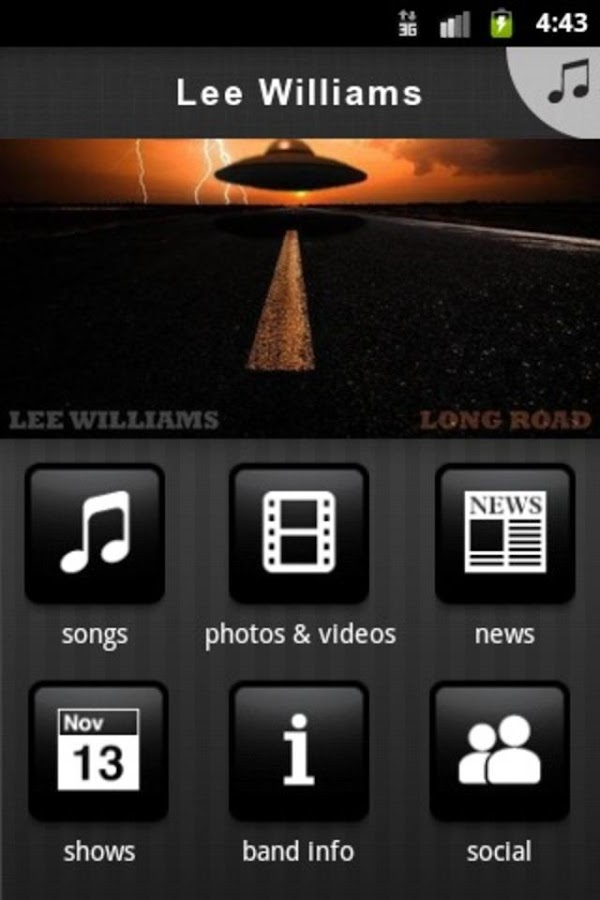 Lee Williams- screenshot