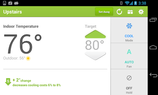 EnergyHub Thermostat - screenshot thumbnail