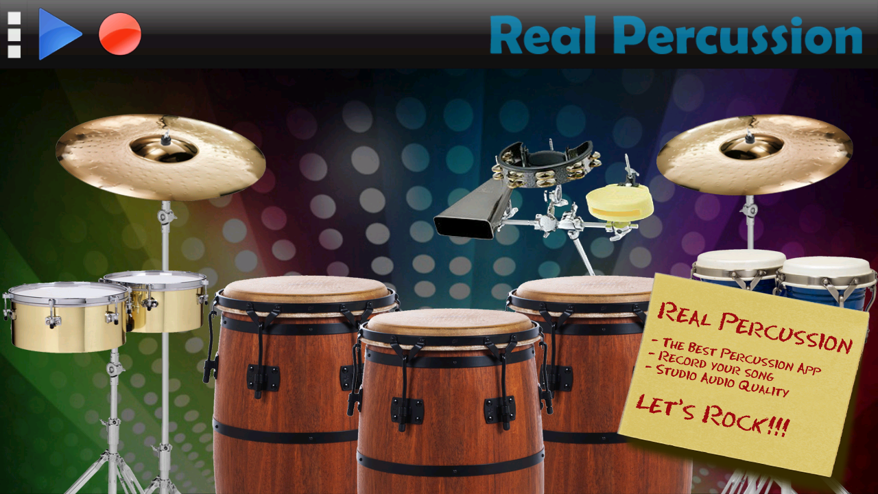 Real Percussion - screenshot