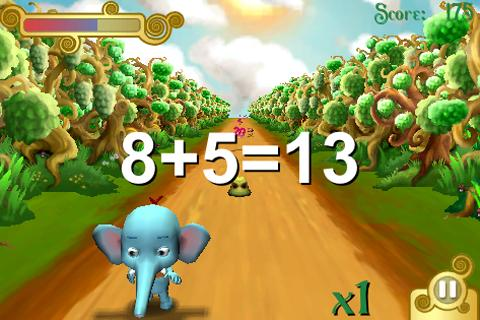 Trunky learns numbers- screenshot
