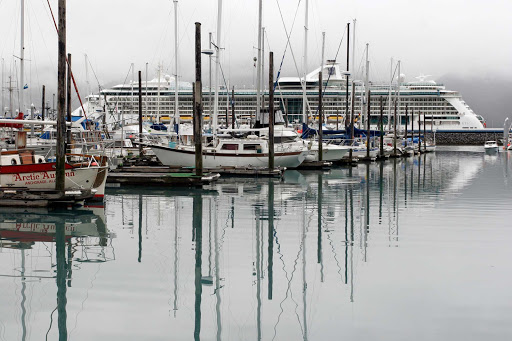 Seward-Alaska-harbor - The harbor in Seward, Alaska.