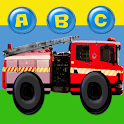 Fire Truck ABC Colours Numbers icon