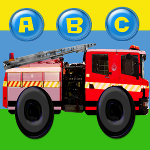 Fire Truck ABC Colours Numbers for PC and MAC