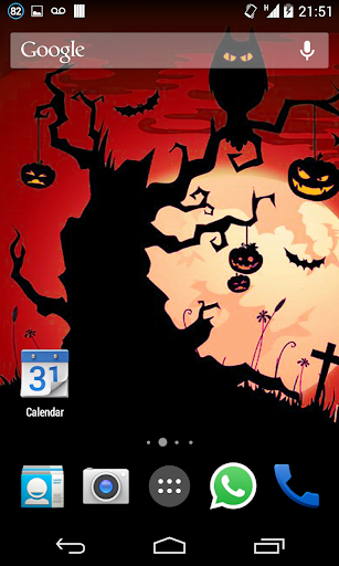 Halloween HD Live Wallpaper 2