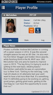 CBS Sports Fantasy Baseball - screenshot thumbnail