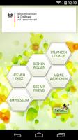 Screenshot of Bienen-App