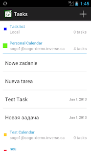 Tasks - screenshot thumbnail