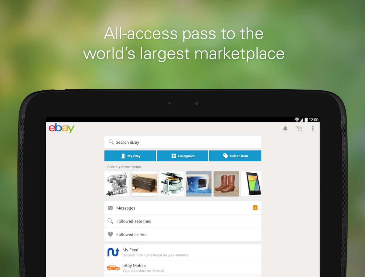 eBay - screenshot