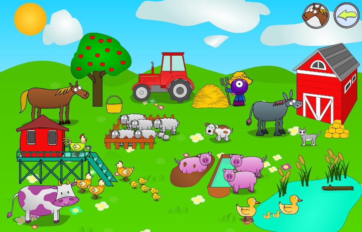 Fattoria versi degli animali app android su google play for Planimetrie rustiche della fattoria