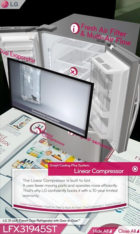 LG DOOR-IN-DOOR™ 3D AR(US, EN)- screenshot