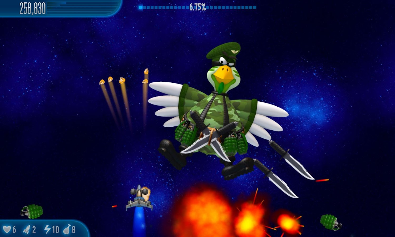 Chicken Invaders 5- screenshot