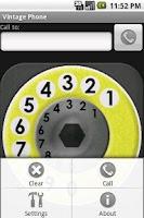 Screenshot of Vintage Phone