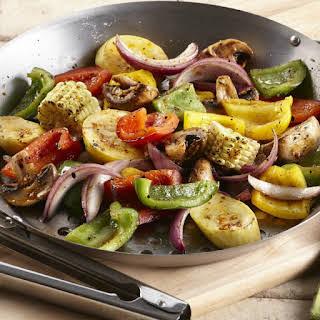 Roasted Garlic Grilled Vegetables.
