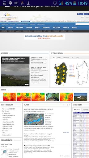【免費天氣App】Sardegna Clima Web-APP點子