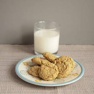 Oat Flour Butterscotch Chip Cookies.