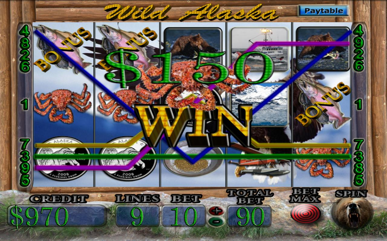Wild Alaska Vegas Slot Machine- screenshot