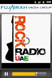 Rock Radio UAE 90.7 FM screenshot