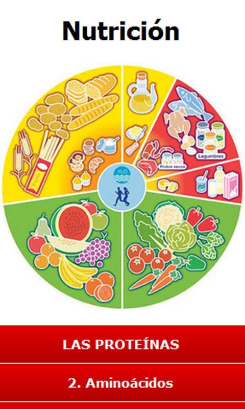 Nutrición - screenshot