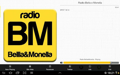 Radio Bellla&Monella- screenshot thumbnail