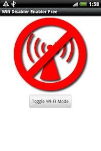 Wifi Enabler / Disabler Free- screenshot thumbnail