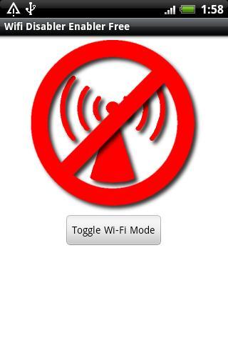 Wifi Enabler / Disabler Free- screenshot