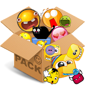 Emoticons pack, Squared emotic